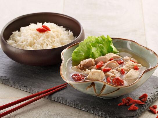 Singapore Herbal Chicken Zero™ Rice