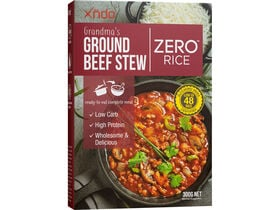 Grandma's Ground Beef Stew Zero™ Rice