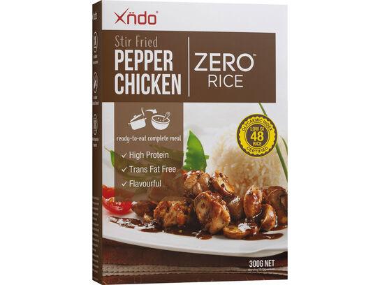Stir Fried Pepper Chicken Zero™ Rice
